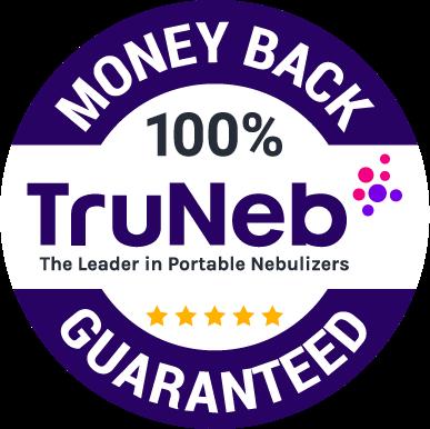 TruNeb Badge money back guarantee