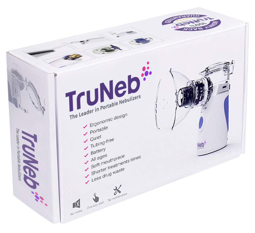 TruNeb Pocket Size Nebulizer Machine box